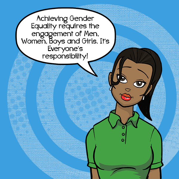 gender equality is responsibility of all