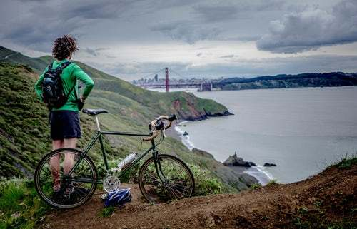 bike san francisco  - low budget traveling
